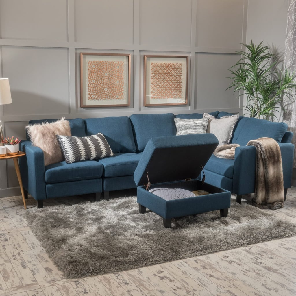 Christopher Knight Home Zahra Fabric Sofa Sectional | Best ...
