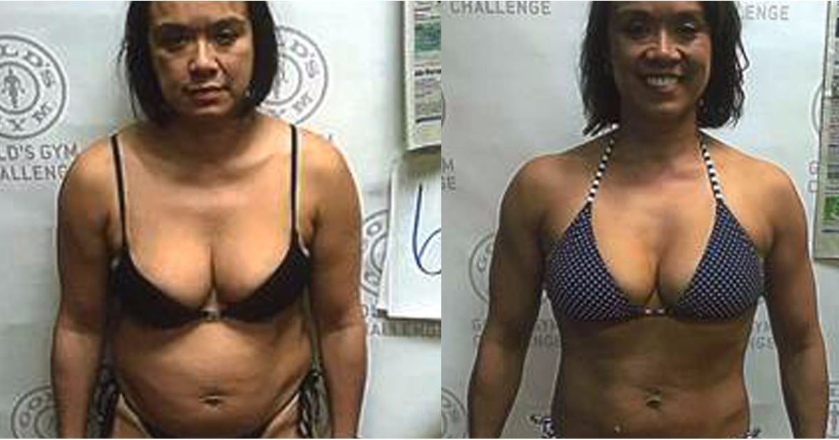 Ellie Transformed Her Body in Her 40s With the Help of Gold's Gym