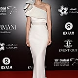 Rooney Mara wore custom Lanvin at the Dubai International Film Festival.