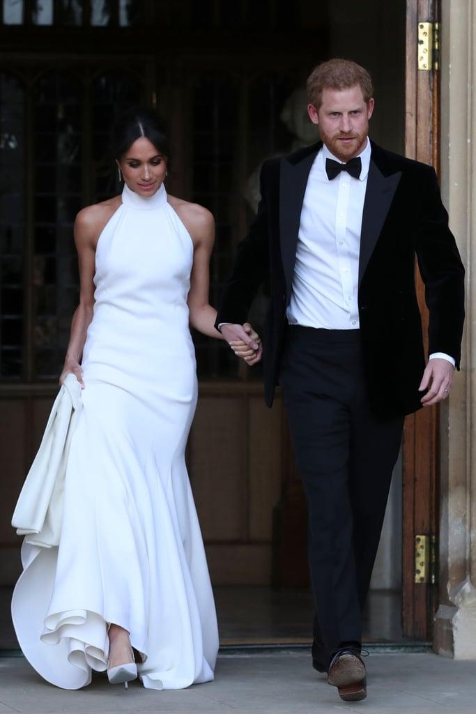 Meghan Markle Second Wedding Dress | POPSUGAR Fashion
