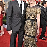 January Jones and Jon Hamm Make a Mad Pair on the SAG Awards Red Carpet