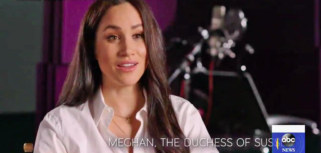 Meghan Markle's Gold Necklaces in GMA Elephant Interview