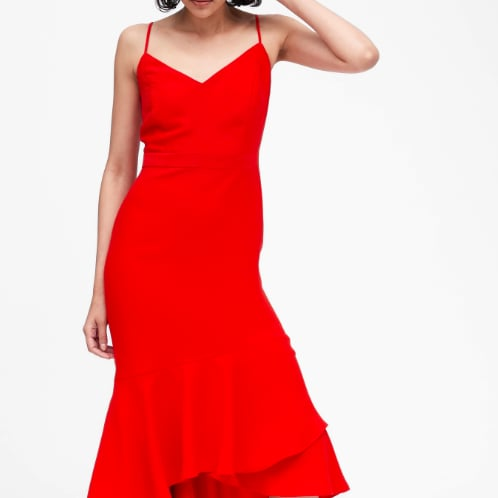 The Most Festive Red Clothing For Women at Banana Republic