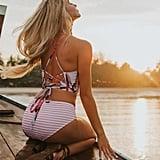 Sukeq Printed Bikini Set
