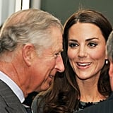 It's clear Charles' affection for Kate is reciprocated.