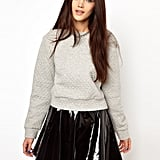 The quilting adds a little luxe to this ASOS sweatshirt ($39).