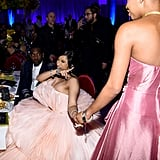 Cardi B and Slick Woods at the 2019 Diamond Ball