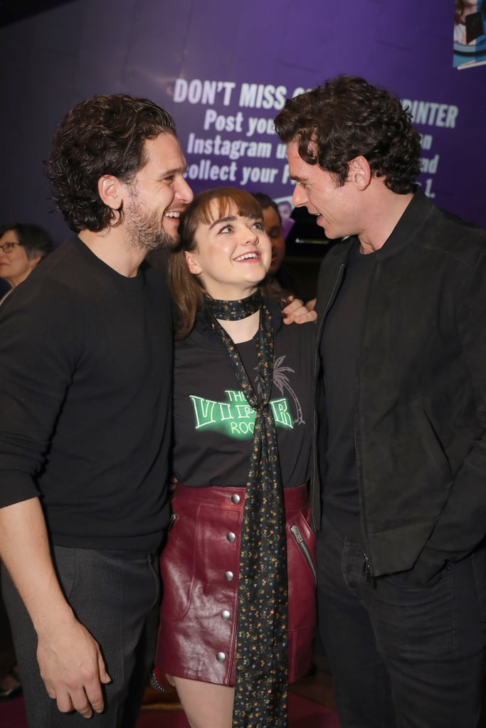 Game of Thrones Reunion Maisie Williams Kit Harington Photos