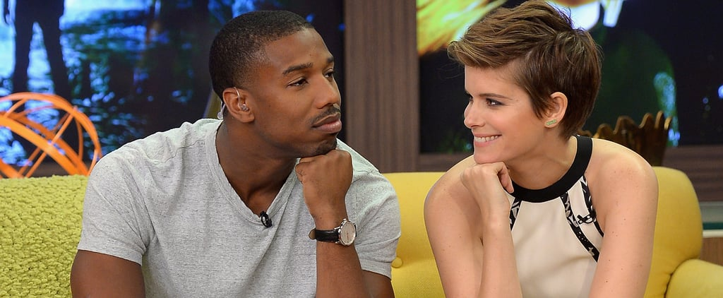 Awkward Interview With Michael B. Jordan and Kate Mara