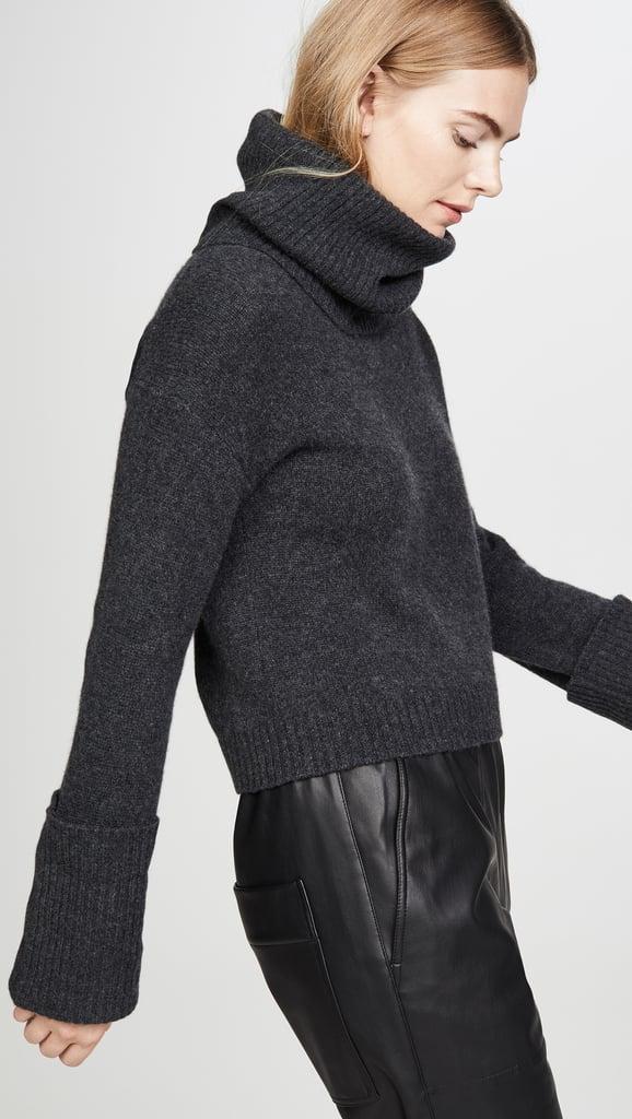 Naadam Oversized Cashmere Turtleneck
