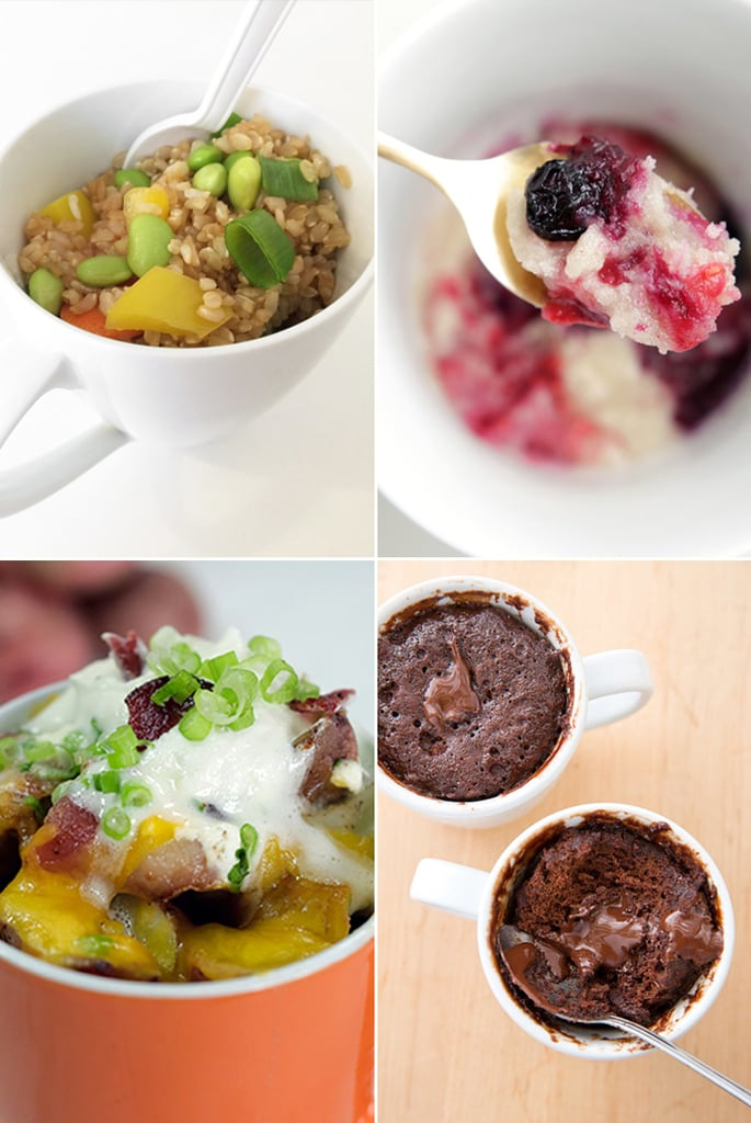 Microwaveable Mug Recipes