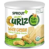 Sprout Organic Curlz Toddler Snacks, White Cheddar
