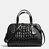 Coach Nolita Satchel In Quilted Croc Leather ($395)