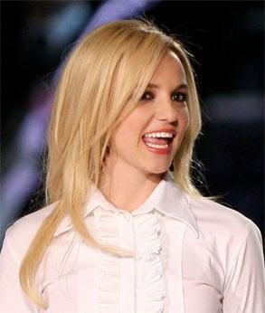 Britney Spears' Lipstick on Madonna Tour