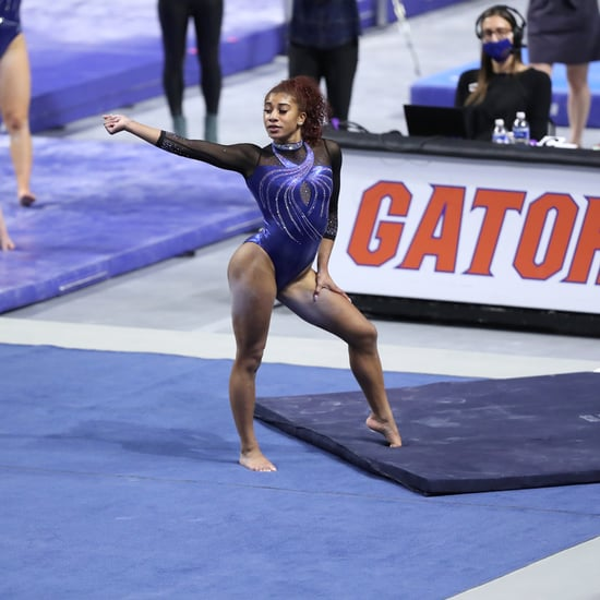 Watch Nya Reed's 2021 Gymnastics Floor Routine