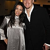 Jenna Dewan and Channing Tatum appeared at the Feburary 2008 premiere of Step Up 2 in LA.