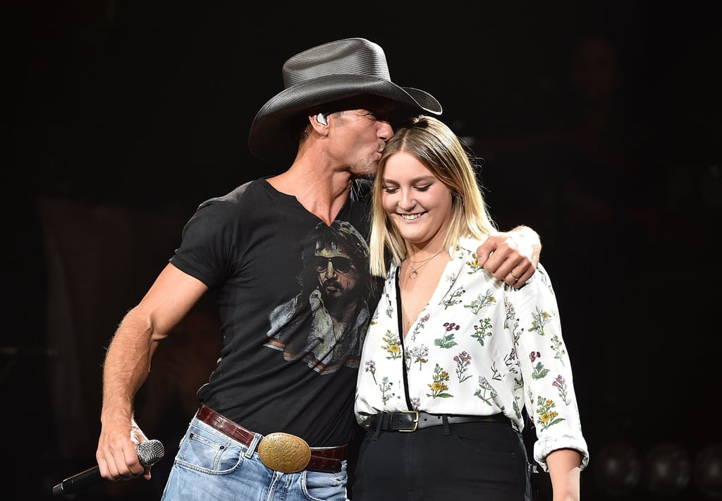 "There's no shortage of talent in Tim McGraw and Faith Hill's family. Case in point: Tim recently shared a video of himself singing along to Barbra Streisand and Barry Gibb's ""What Kind of Fool"" on a road trip with his 22-year-old daughter, Gracie McGraw — who pretty much outshines the famous country singer, by the way. Tim wrote on Instagram, ""Dang, this girl can sing!"" Meanwhile, Faith commented, ""Barbra Streisand would be proud."" This isn't the first time Gracie has shown off her singing skills. In fact, Tim previously invited her on stage during a 2015 Nashville concert to perform his song ""Here Tonight."" Judging by Tim's hashtag, #chaseyourdreamsgirl, it seems Gracie might follow in her parents' footsteps and pursue a career in music.  Check out the sweet father-daughter duet ahead."