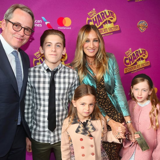 Sarah Jessica Parker and Family at Premiere April 2017