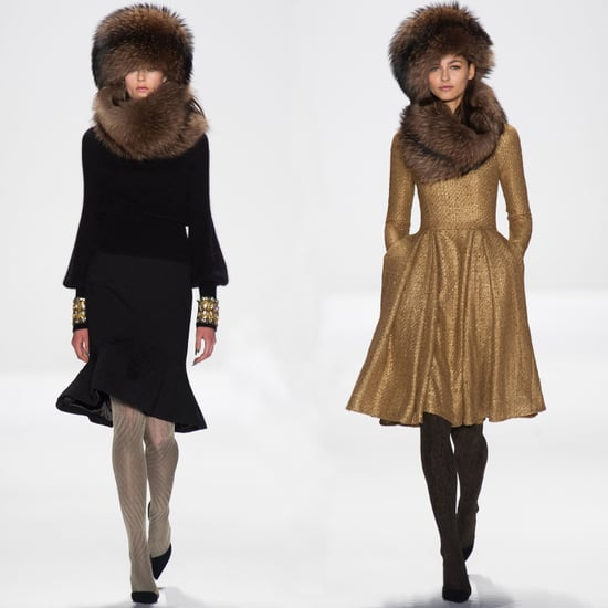 Badgley Mischka Fall 2014 Runway Show   NY Fashion Week