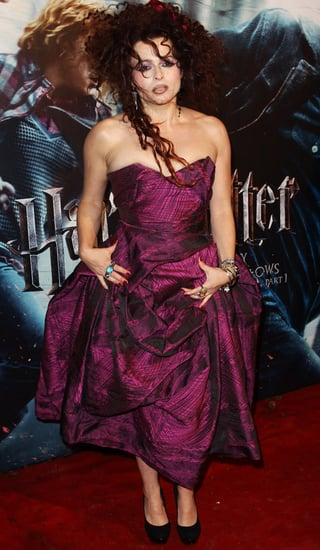 Photos of Helena Bonham Carter at the Harry Potter and the Deathly Hallows Premiere
