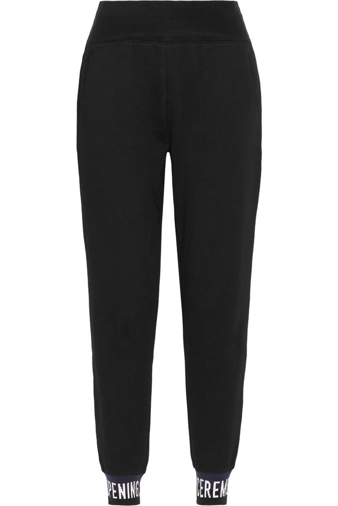 Opening Ceremony Cotton-Jersey Track Pants ($104)