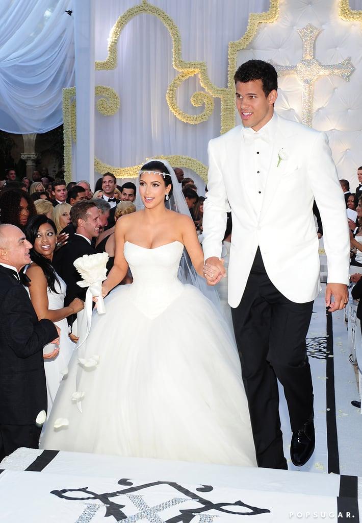 Kim Wedding Dress 8 Trend Kim Kardashian Wedding Pictures