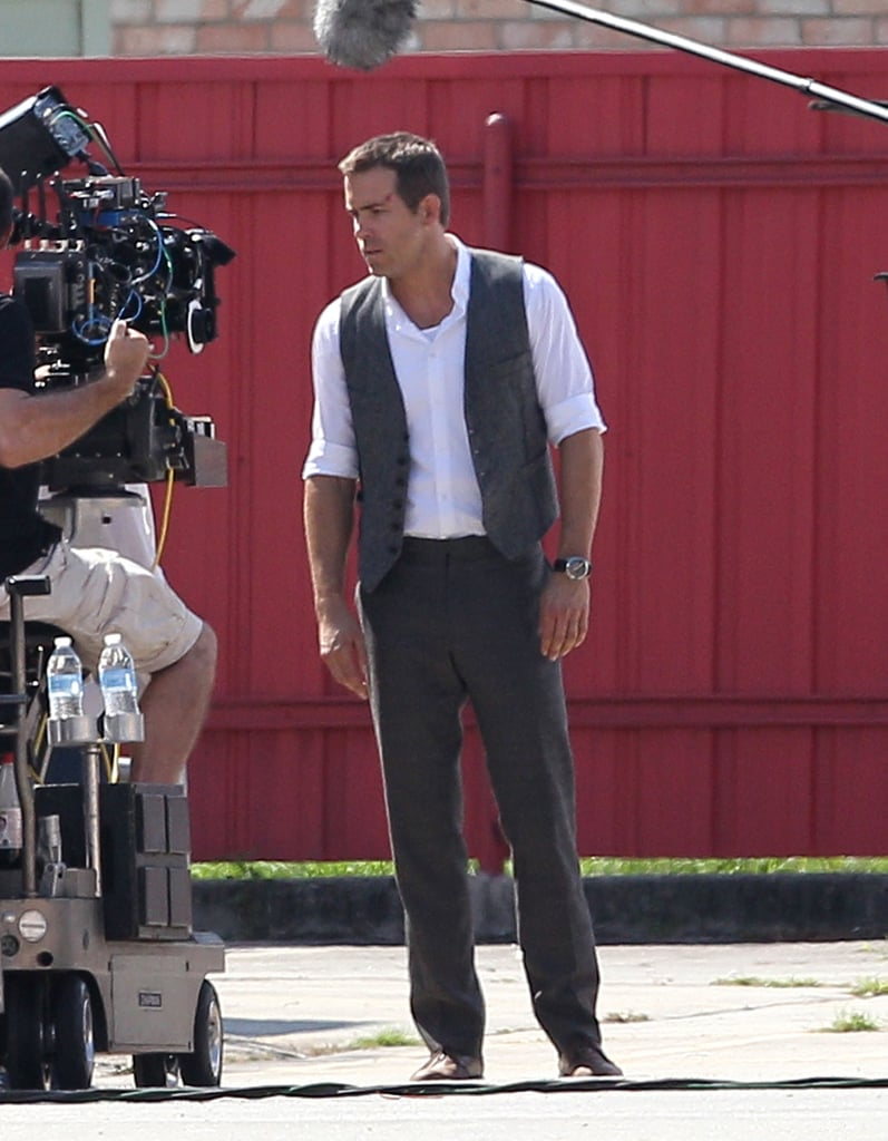 Ryan Reynolds headed to New Orleans to film his latest project.