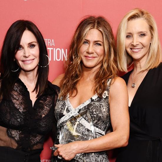 Jennifer Aniston Had a Friends Reunion at the Artists Awards