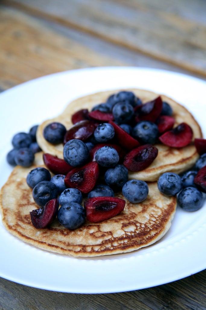 Whole-Wheat Vegan Pancakes
