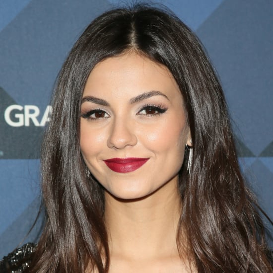 Victoria Justice Blue Hair March 2016