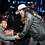John Legend and Billy Ray Cyrus