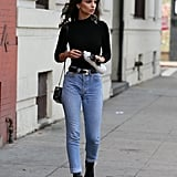 Emily Ratajkowski's Outfit Looks Pretty Simple and Casual at First