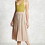 Forever 21 Drawstring Midi Skirt