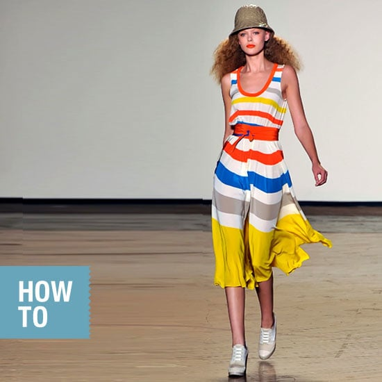 How to Wear Spring's Bold Stripes 2011-07-29 10:57:11
