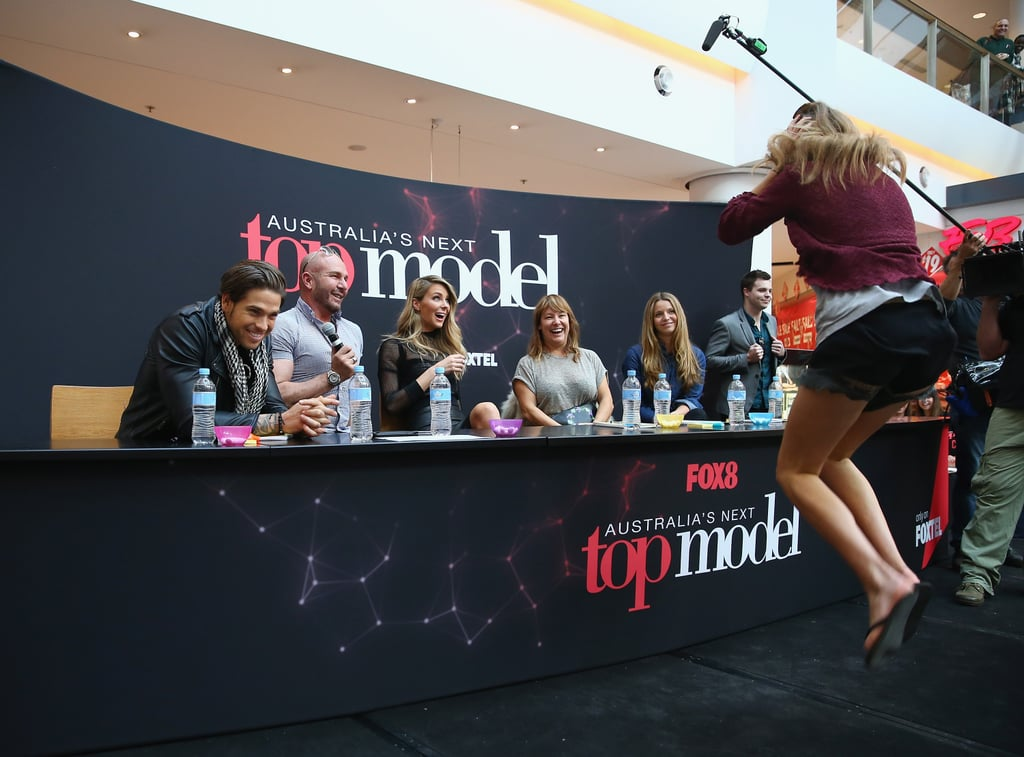 A contestant had a huge reaction to getting through to the second round at the Chatswood Chase audition.