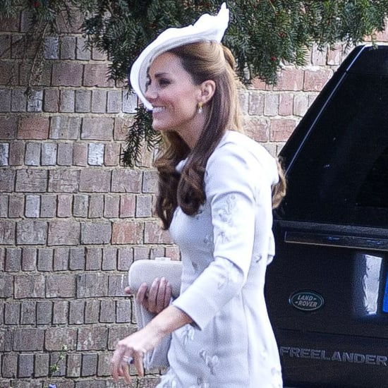 Kate Middleton at a Wedding in England
