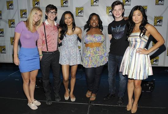 Glee Stars Reveal Season Two Spoilers at Comic-Con