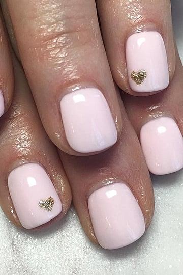 Easy Valentine's Day Nail Ideas