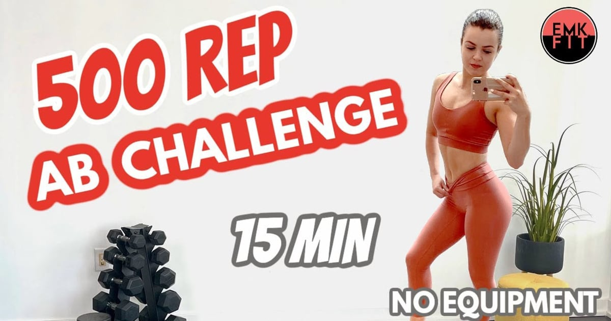 If You Want Strong (and Sore!) Abs, Do This 500-Rep Ab Challenge Workout