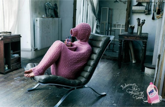 Henkel Mir Wool ad campaign