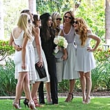 Jessica Alba Wears White to a Wedding, but the Bride Doesn't Mind