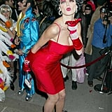 In 2002, Heidi Klum blew kisses as Betty Boop in NYC.