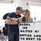 "After months of waiting, Brian was finally able to meet his 4-month-old daughter in the airport. ""It was honestly surreal,"" said Hannah. ""That moment will be something I never forget. I can still remember the way the air felt in the morning. The way the sun shined through the airport. But I also remember feeling so scared."" ""It had been 8 months since we had been together, and in those 8 months we both became two different people,"" she confessed. ""We both experienced some of the toughest things we had ever gone through, and we did it apart. Both of us could never begin to understand what the other went through. And now we had this perfect daughter, who was half of us. Half of two people who didn't really know each other anymore."" Although the following months were magical for the new parents, getting into the swing of things had its challenges. ""Having your husband away for so long changes you,"" she said. ""And it takes a lot of work, patience, and determination to redate and get to know your spouse while also being a new parent."""