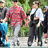 Channing Tatum and Jessie J at Disneyland Pictures May 2019