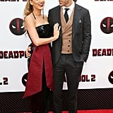 Blake Lively and Ryan Reynolds at Deadpool 2 Premiere