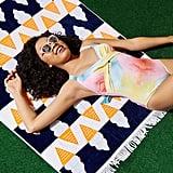 Ice Cream Kona Beach Towel