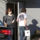 Mandy Moore Does Lunch With Her Husband Ryan Adams