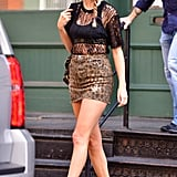 The Leopard Miniskirt