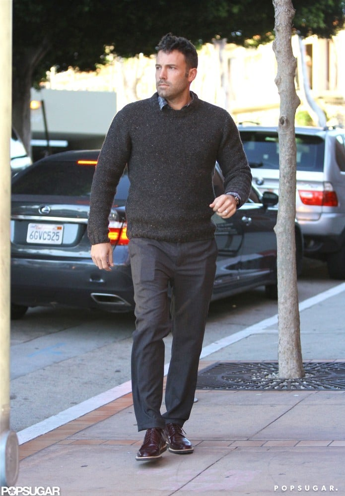 Ben Affleck Celebrates Argo's Opening Weekend With His Girls