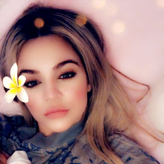 Khloe Kardashian Snapchat Photo With Baby True May 2018
